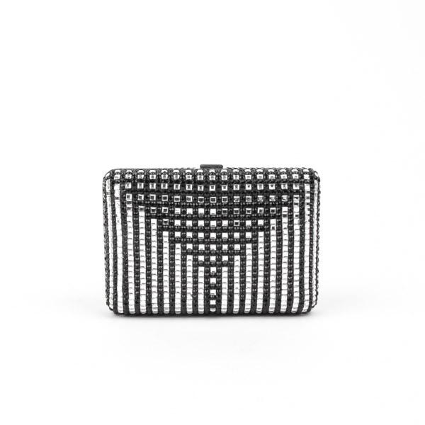 Pre-Owned Judith Leiber Minaudiere Clutch with Chain