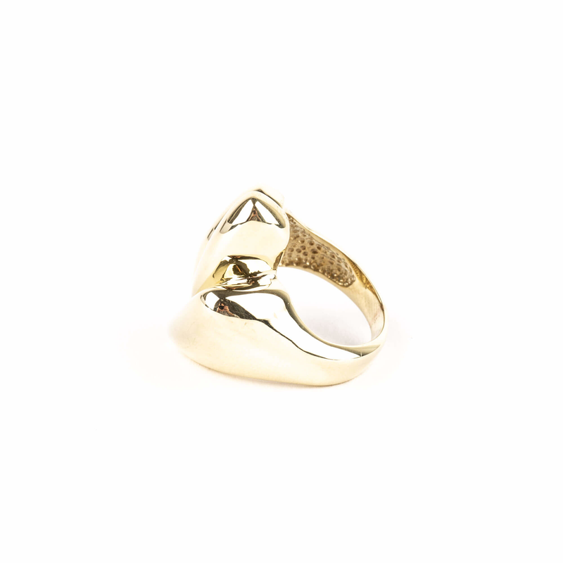Pre-Owned Sculpted High Fashion Ring