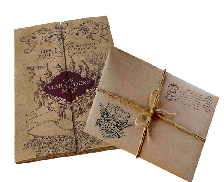 Marauders Map & Mystery Wizardry Gift