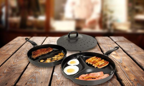 Non Stick Divider Frying Pan Set