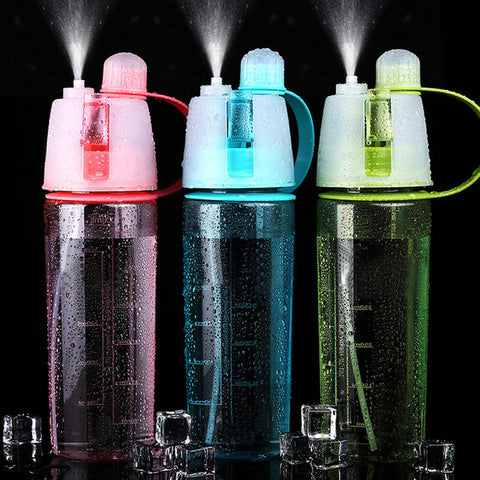 Sports Spray Drinking Bottle