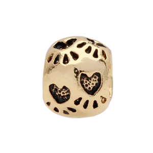 Gold Foot Prints Charm