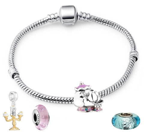 Mrs Potts Starter Charm Bracelet