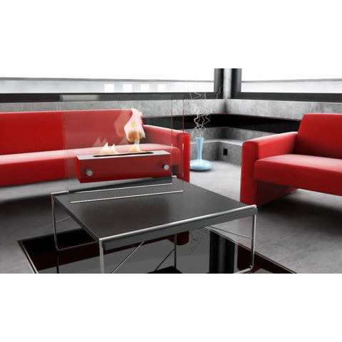 DECORATIVE BIOETHANOL FIREPLACE