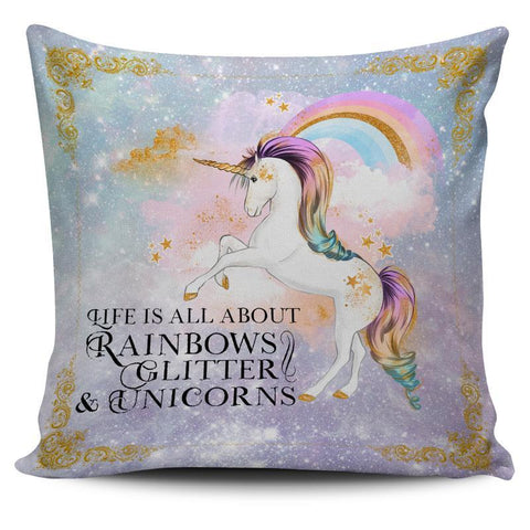 UNICORN THROW PILLOW CUSHION