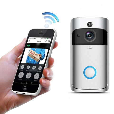 Smart WiFi Security Video Doorbell - Wireless