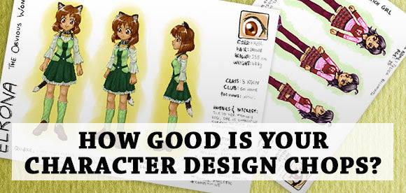 How good is your character design chops?