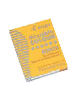 PILOT Ink Cartridge for Parallel Pen,6pc/BX-Yellow - Sketches
