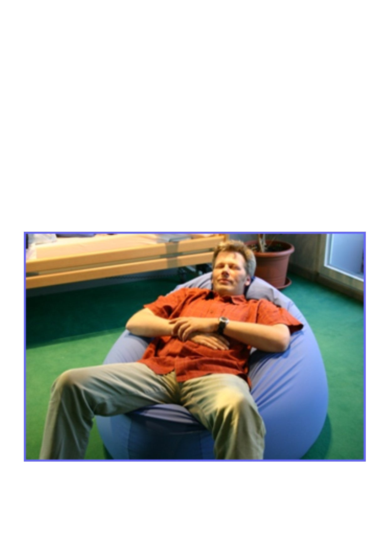 Bean Bag for Posture Support