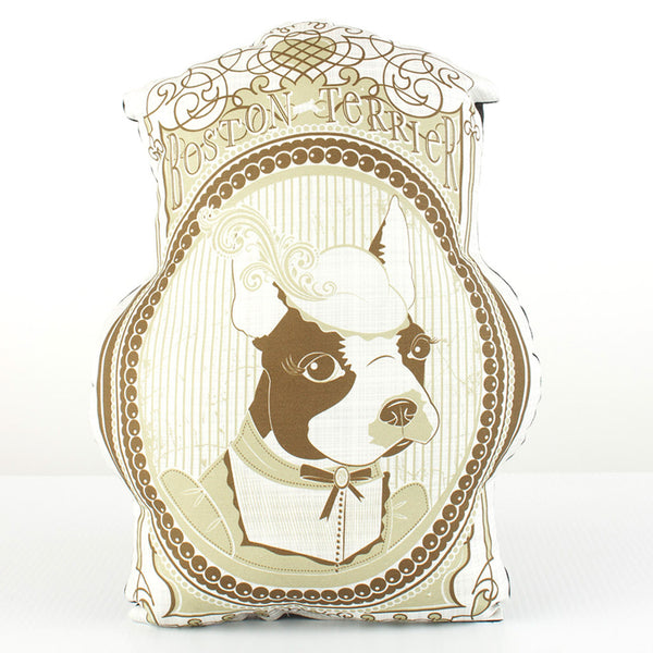 Boston Terrier Dog Breed Pillow