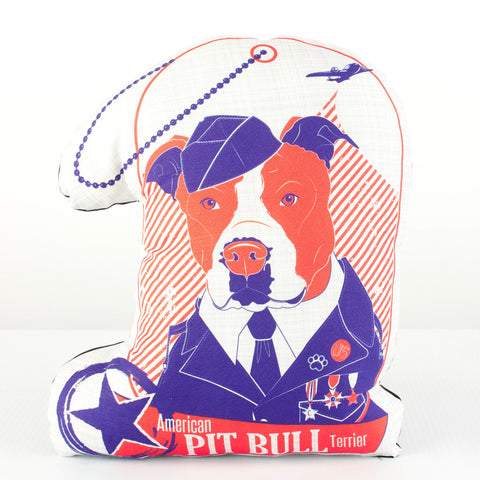 American Pit Bull Terrier Dog Breed Pillow
