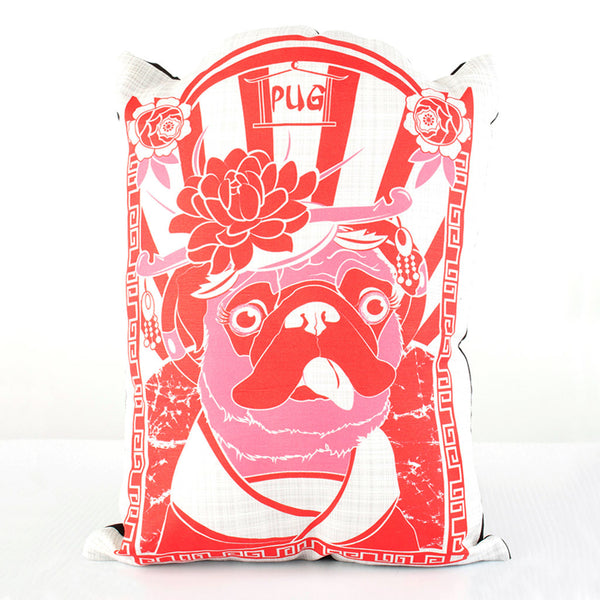 Pug Dog Breed Pillow