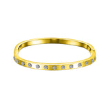 Swarovski Small Hinged Crystal Bangle