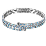 Triple Row Collegiate Twistal Bracelet
