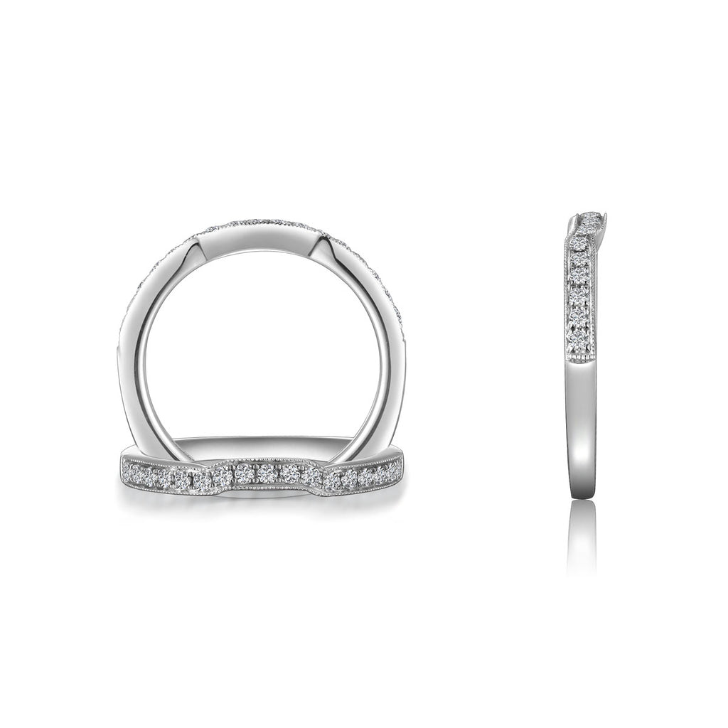 14K Diamond Wedding Ring-DB3174