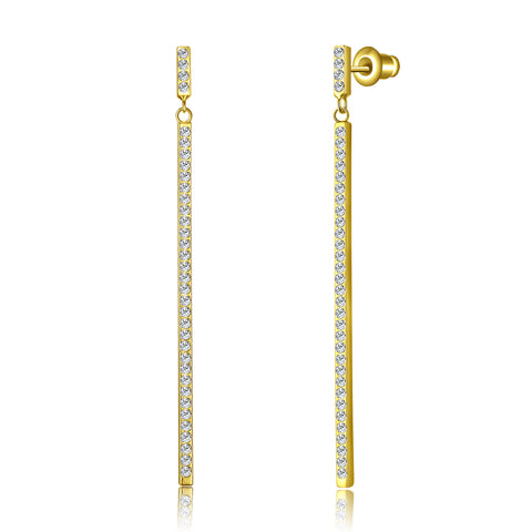 Swarovski Bar Earrings