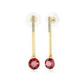 Swarovski Elegant Crystal Drop Earrings