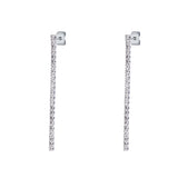 Single Strand Drop Crystal Earrings -EAR2010