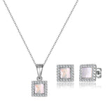 Sterling Silver -Necklace/Earrings Set