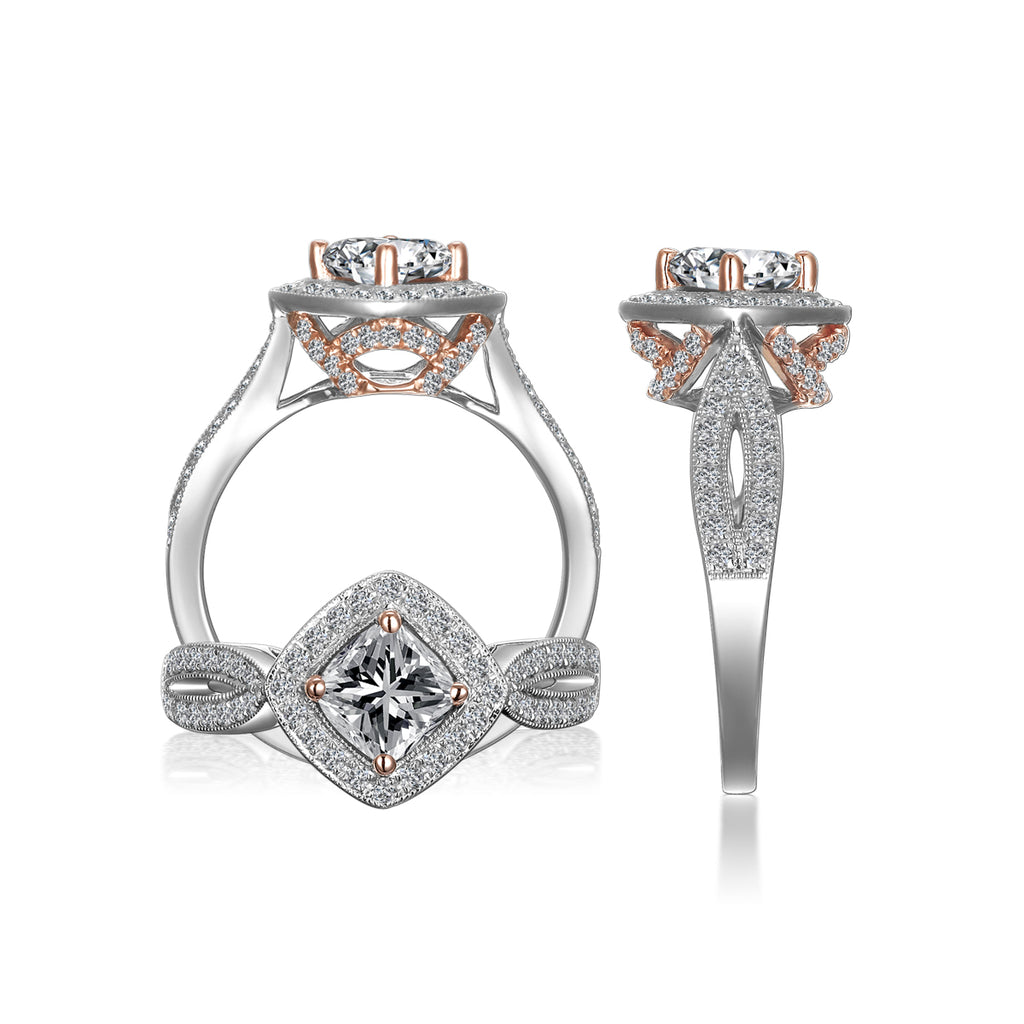 14K Engagement Ring-ER9396