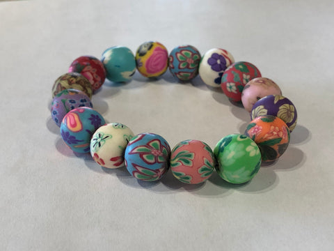 Kids Stretchy Floral Bracelet