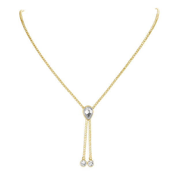 Lariat Style Necklace-L2109