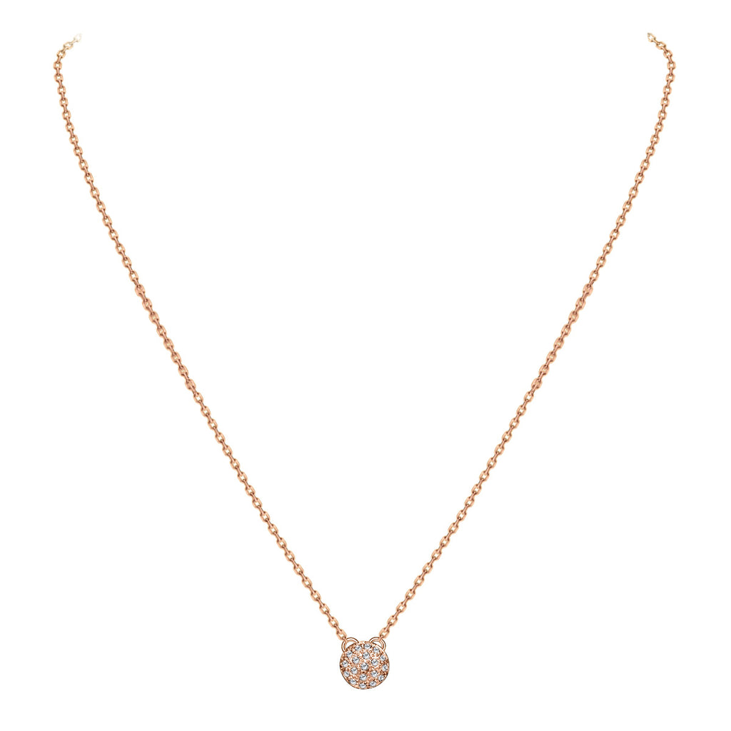 Pave Crystal Necklace
