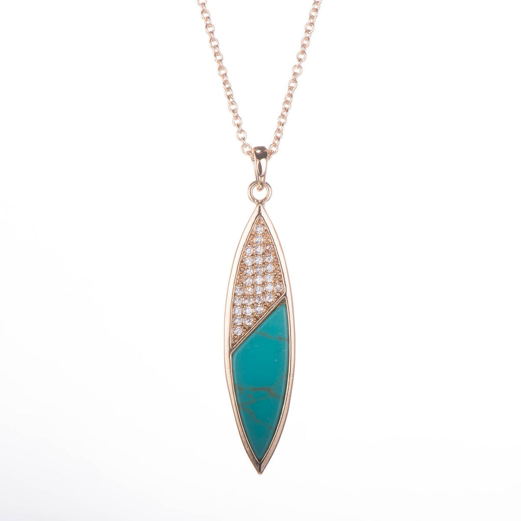 Mother of Pearl/ Turquoise Necklace