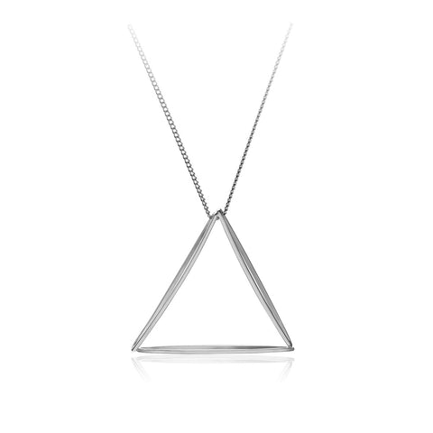 3D Triangle Pendant