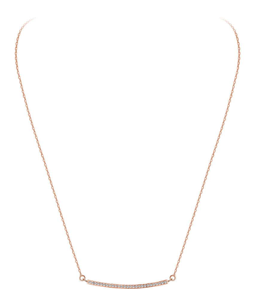 Sterling Bar Necklace