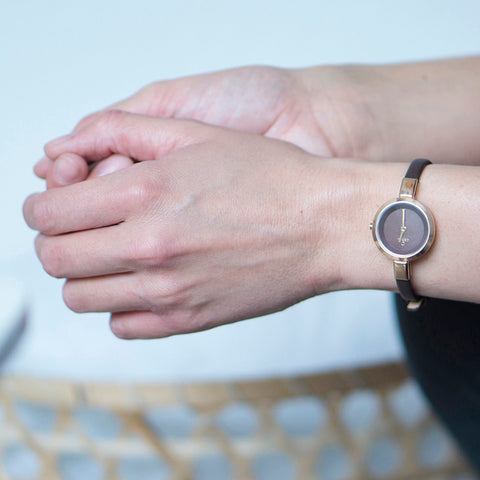 OBAKU-Siv - Walnut Watch