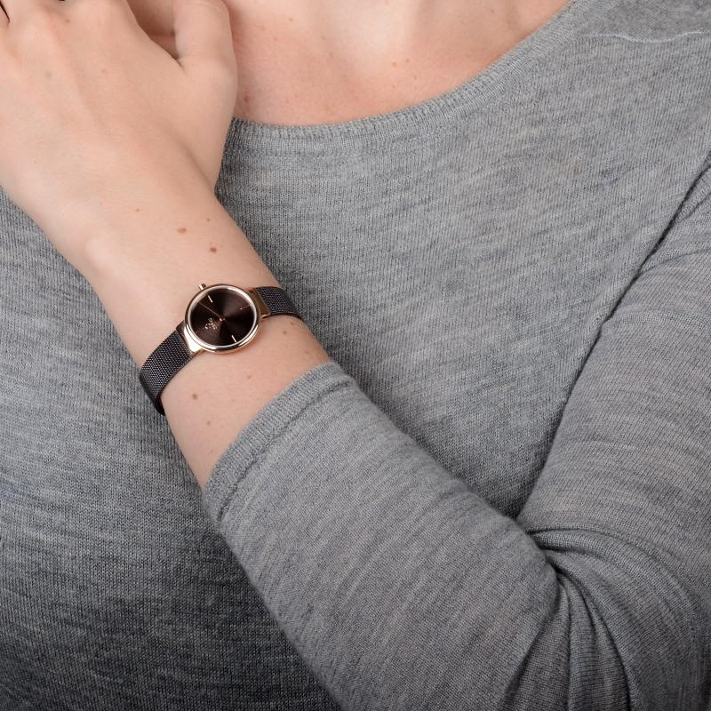 Klar Lille - Walnut Watch