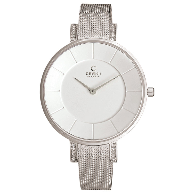 OBAKU-Lun - Steel Watch