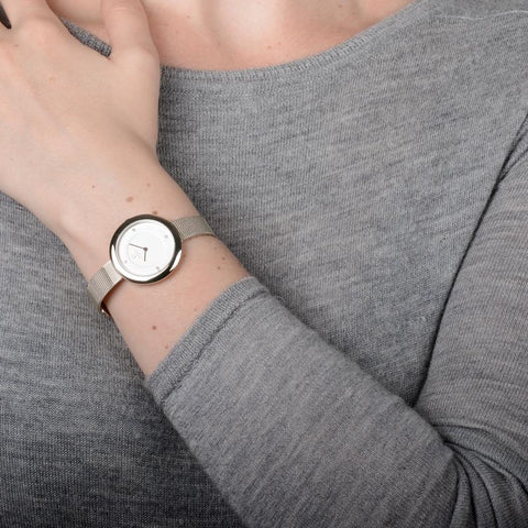 OBAKU-Lyng - Steel Watch