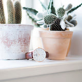 OBAKU-Toft - Mahogany Watch