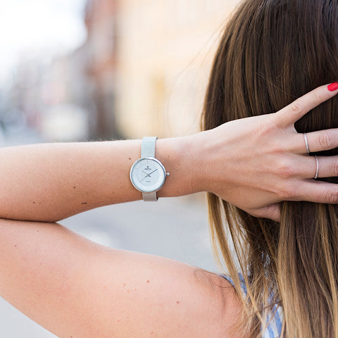 OBAKU-Lys - Steel (solar) Watch