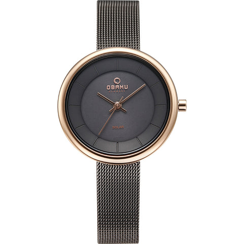 OBAKU-Lys - Granite (solar) Watch