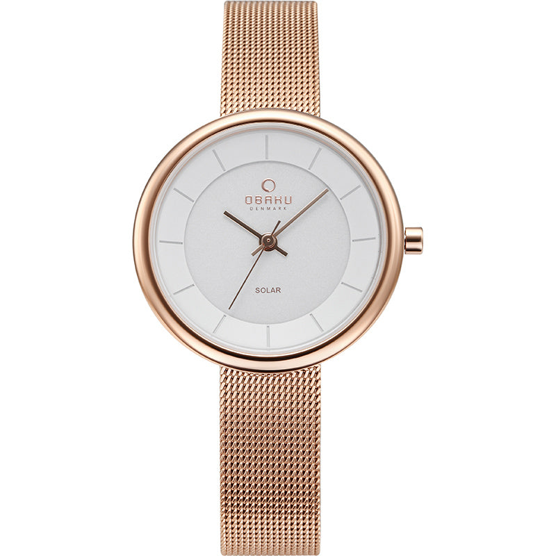 Lys - Rose (solar) Watch