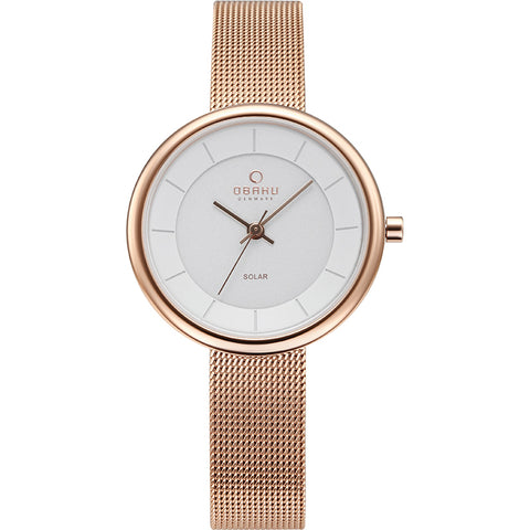 OBAKU-Lys - Rose (solar) Watch