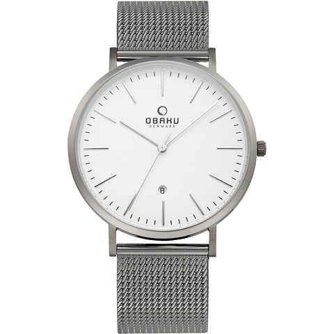 OBAKU-Havre - Titanium Watch