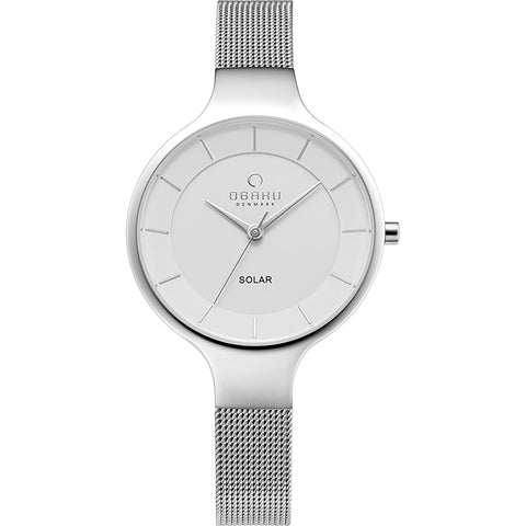 OBAKU-Gry - Temp (solar) Watch