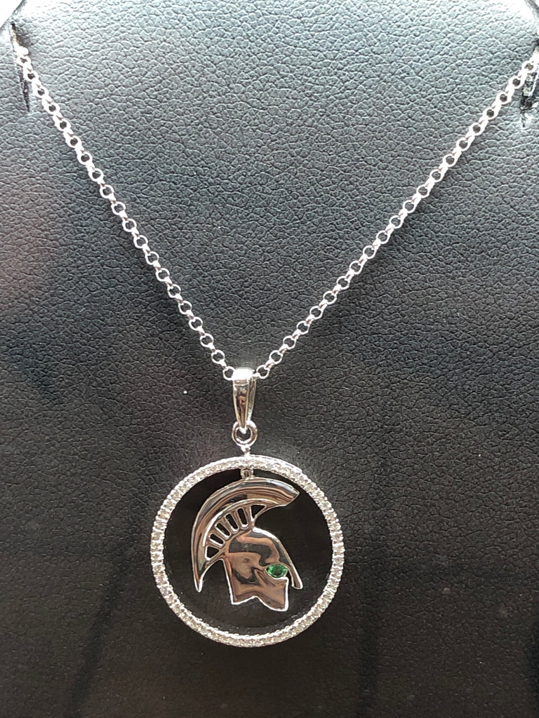Sterling Silver Spartan Pendant