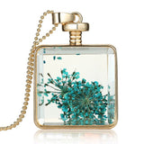 Flower Transparent Pendant