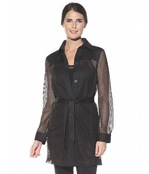 Anatomie Mesh Long Jacket
