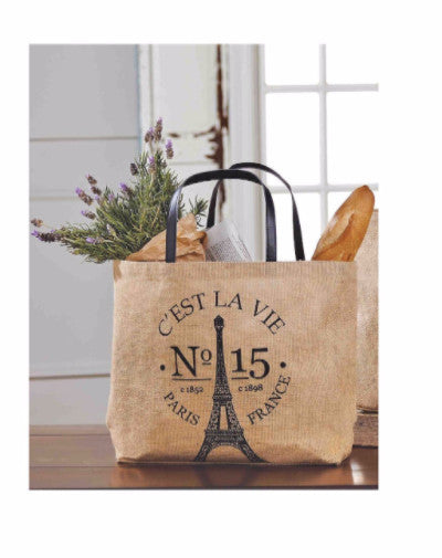 Mud Pie French Market Tote