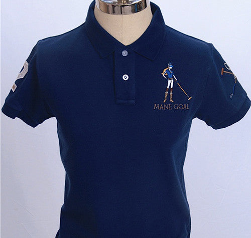 Mane Goal Ladies Classic Fit Polo Shirt