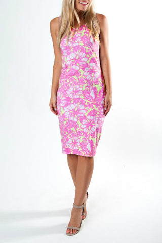 ALOHA SUMMER PARADISE SHIFT DRESS