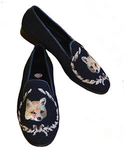 Fox Needlepoint Loafer