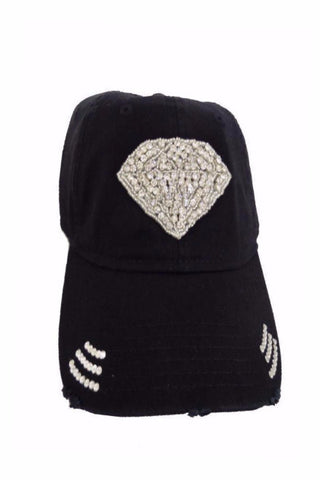 Diamond crystal hat