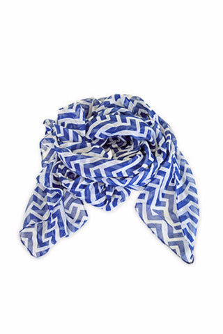 All For Color Nautical Tide Scarf